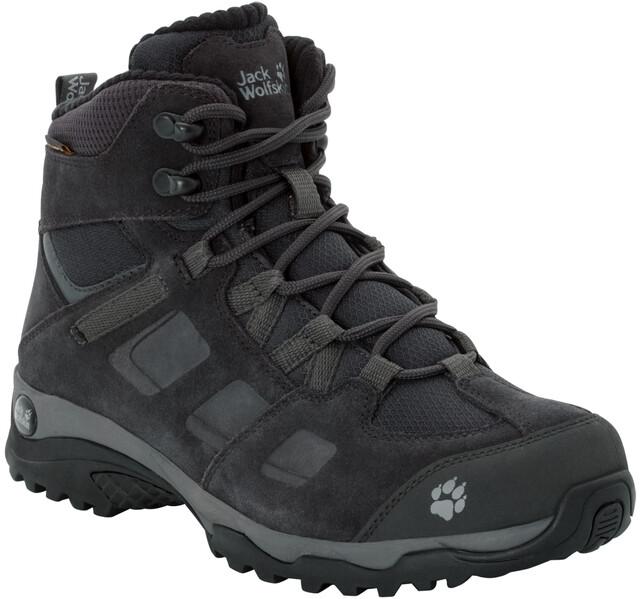 Jack Wolfskin Vojo Hike 2 WT Texapore Chaussures Femme, phantomdark steel